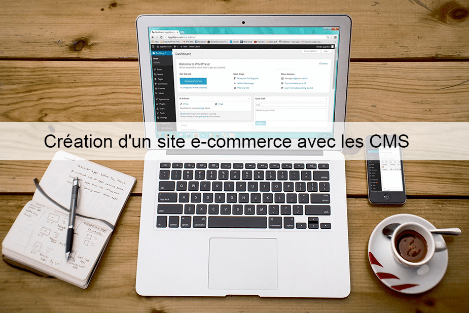 Création d'un site e-commerce avec les CMS