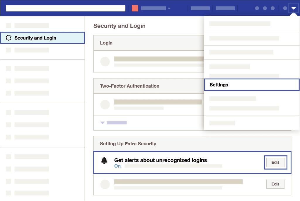 Recevoir des alertes sur facebook
